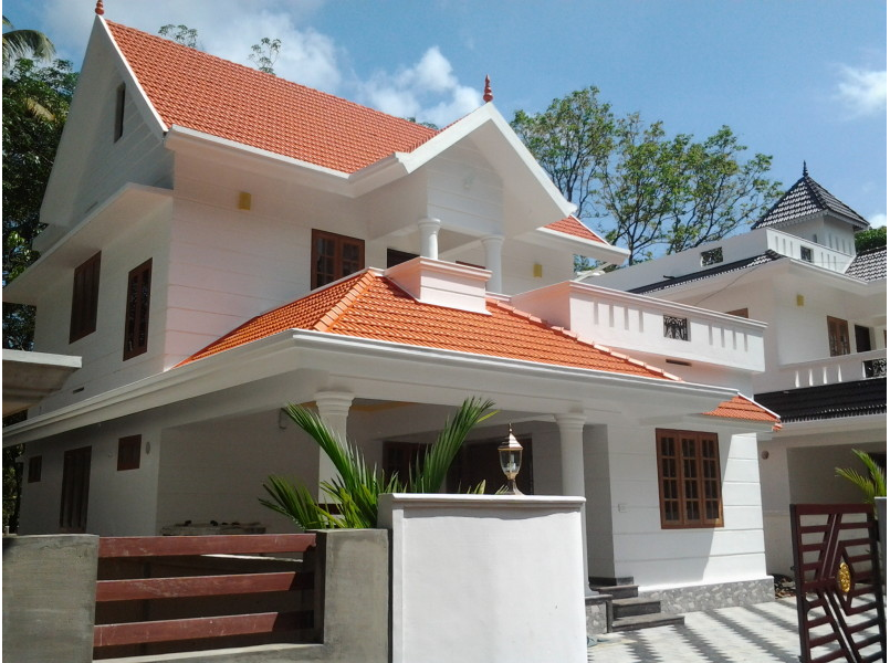 Home Design 1700 Square Feet Part - 37: 1700 Square Feet 3BHK Kerala Home Design At Angamaly,Ernakulam (1)