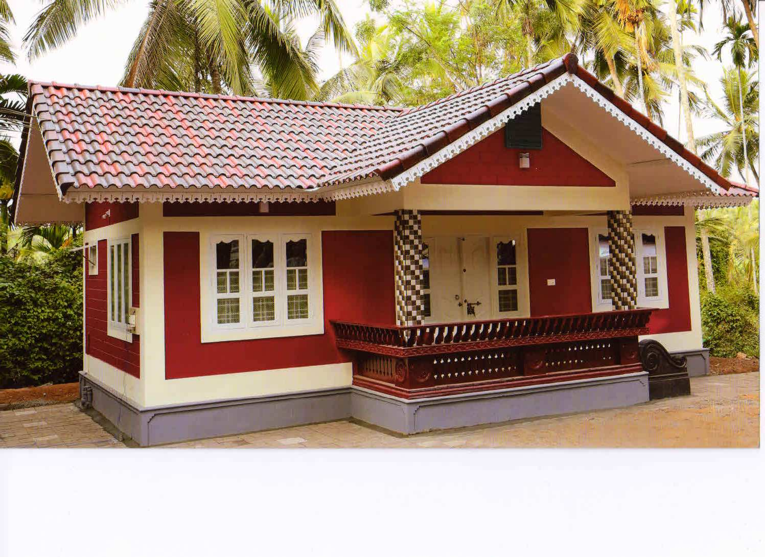 900 square feet 2bhk kerala low budget home design for 10 for Home design 900 sq feet