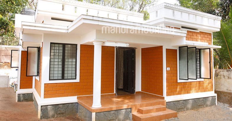Low Budget Home Designed At Kottayam Home Pictures