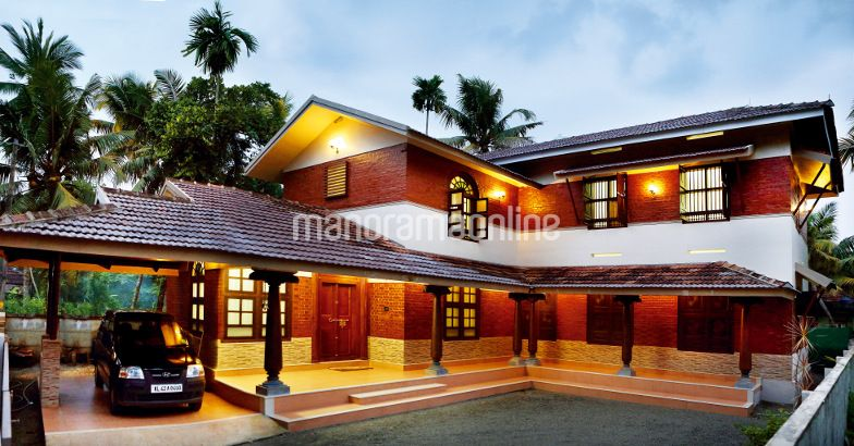 Modern home design 2500 sq ft at njarakkal home pictures for Modern home plans 2500 sq ft