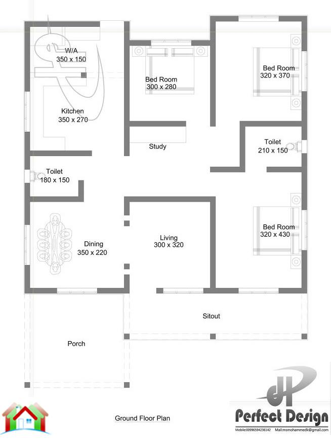 1185 Square Feet Home For 17 Lakhs (1)