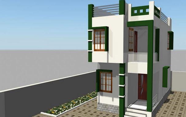 Photo of 873 square feet house design plan