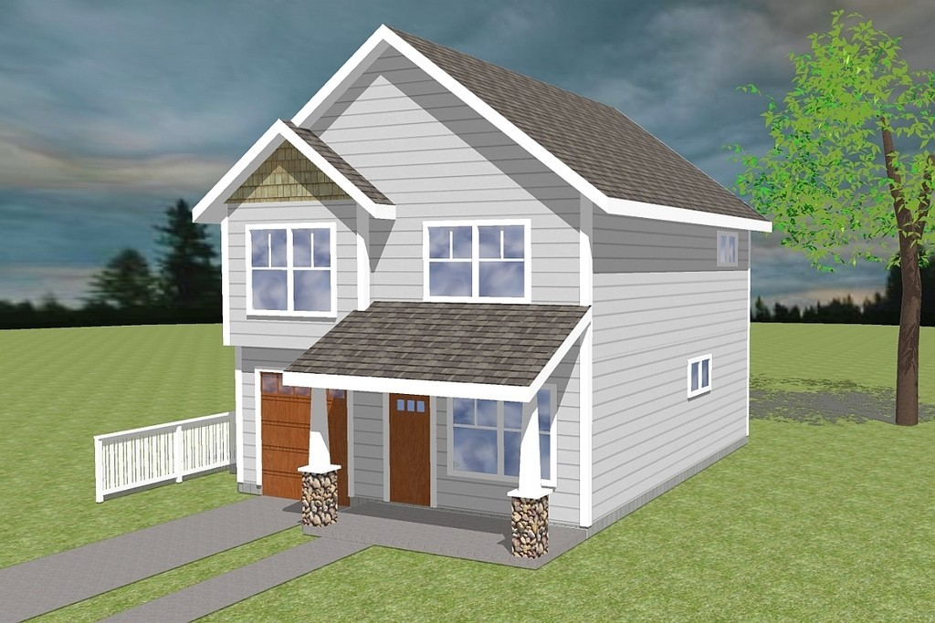 Photo of 2 story house Design With Plan
