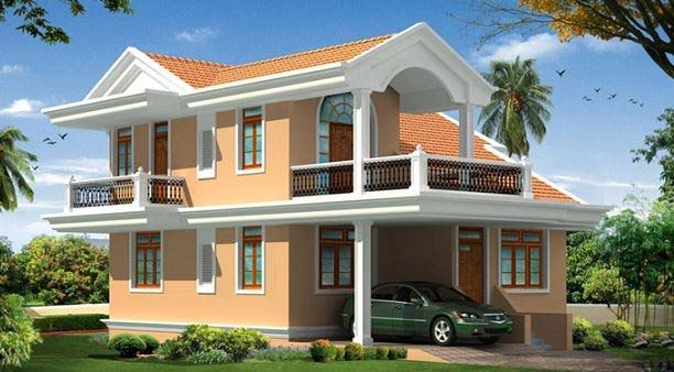 Photo of 2106 SQ FT buttyfull  home design  and  Plan