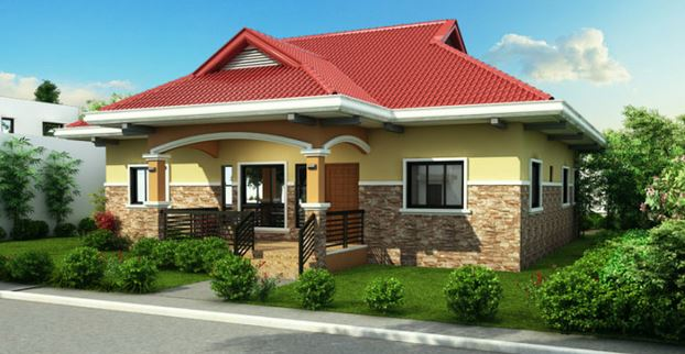 Photo of one story House Design and Plan