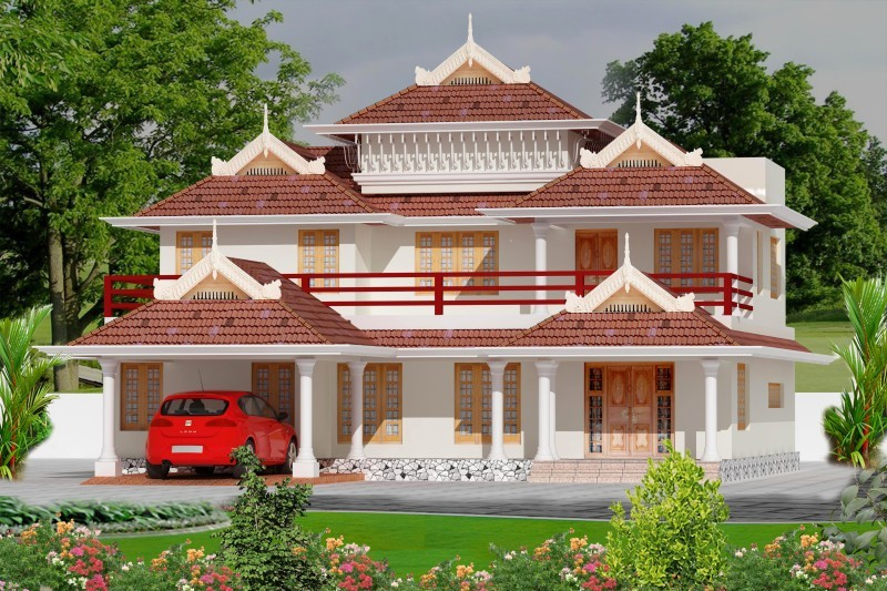 Photo of Posh House in Greenish Atmosphere in Kochi 3000 Sq. Ft.