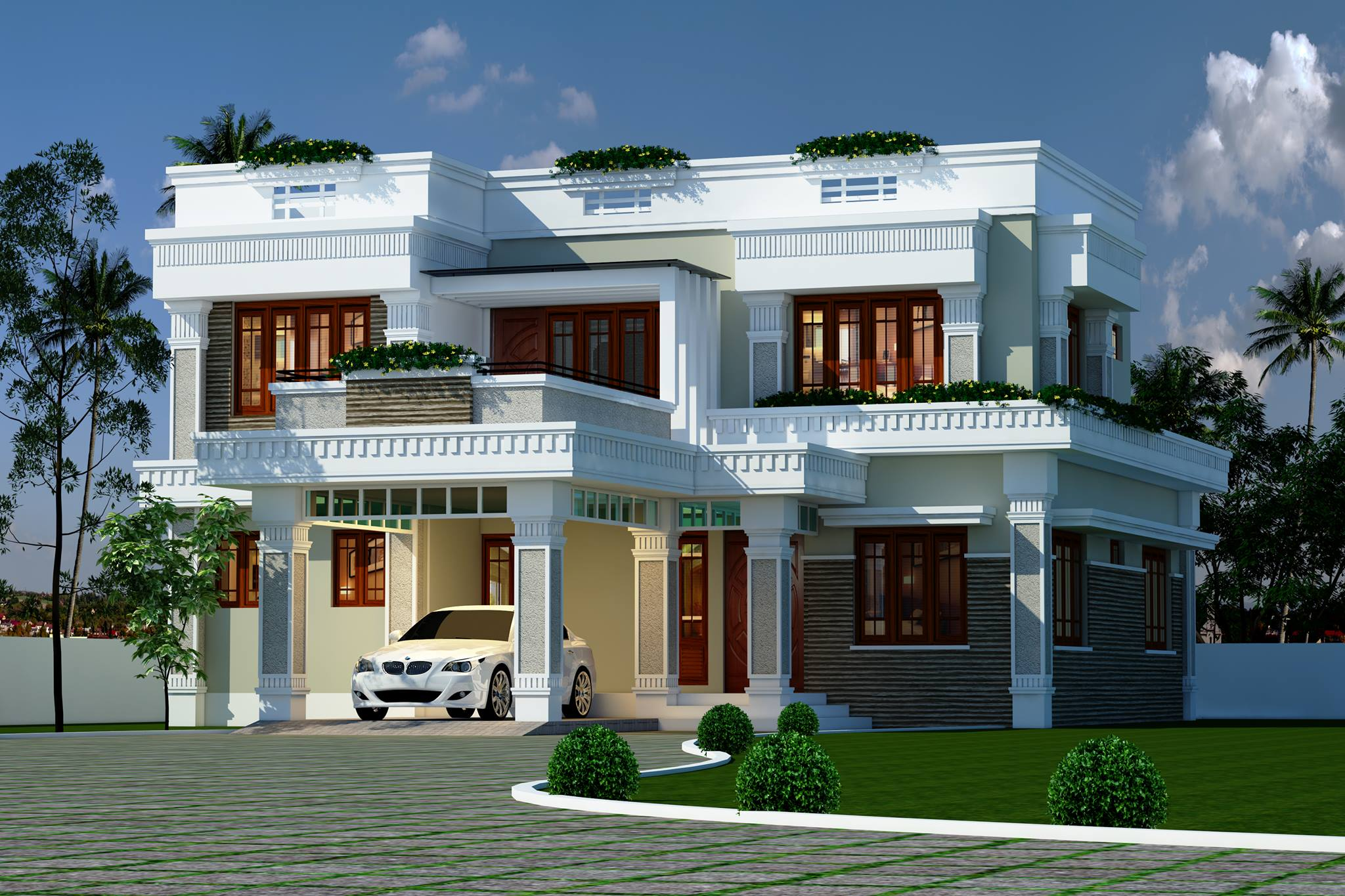 Photo of Comfort and Elegance Home Design 2248 Sq.feet