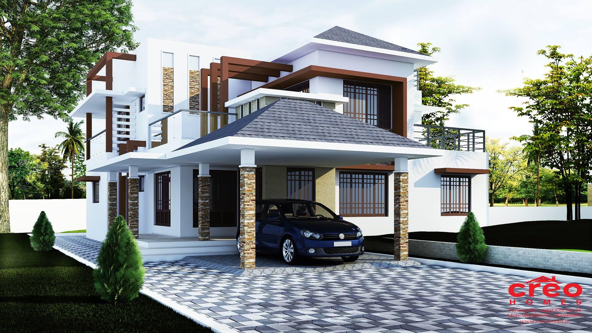 Photo of Contemporary Home Design 2934 Sq.feet