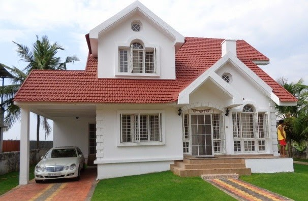Photo of 3100 square feet, four bedrooms furnished villa at 8.4 cents door land