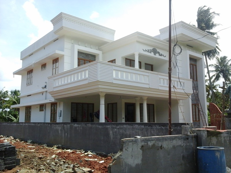 2400 Sq Ft, 4 BHK Home Design in Ernakulam near Cochin Airport