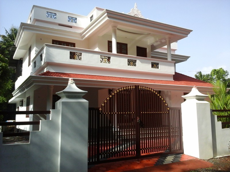 Beautiful Home Design In Ernakulam At 2350 Sq. Ft.