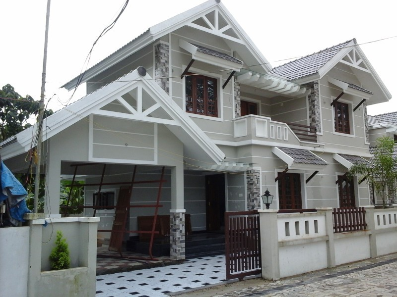 3 Bedroom 1,450 Sq Ft Home Design In Ernakulam