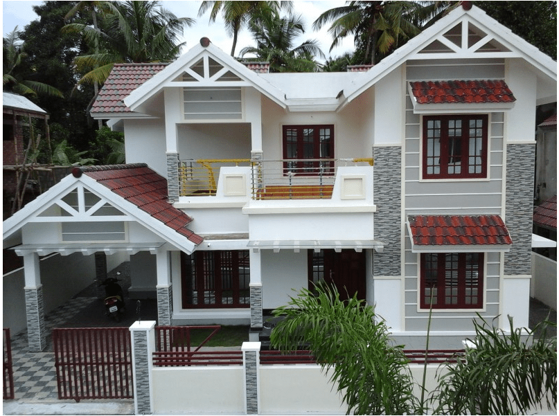 Beautiful New Home Design At Ernakulam Sq Ft Home Pictures ...