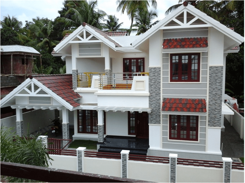 Photo of Beautiful New Home Design At Ernakulam 2000 Sq. Ft.