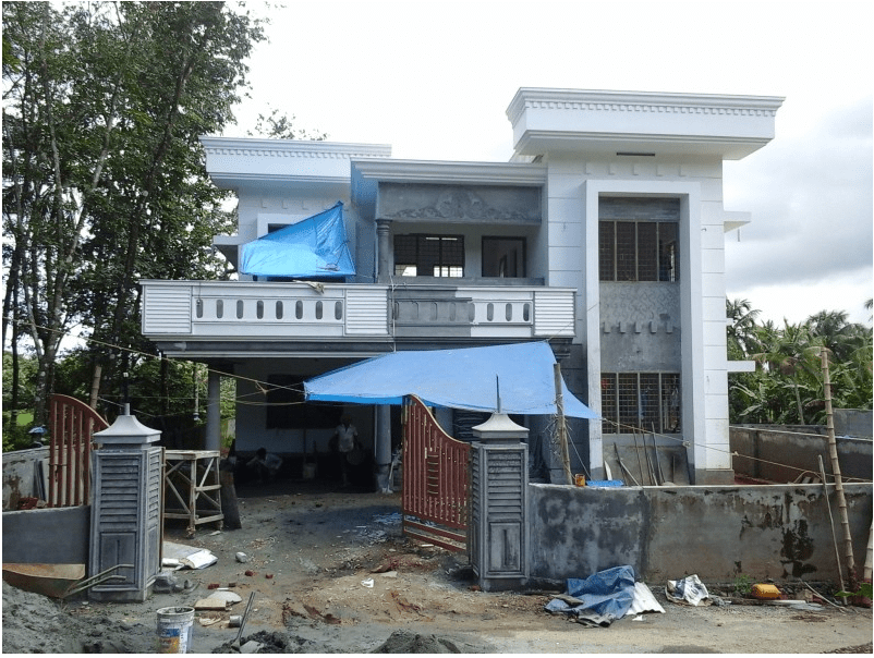 Photo of 4 Bedroom Home Design 2,400 Sq Ft At Kalady, Ernakulam