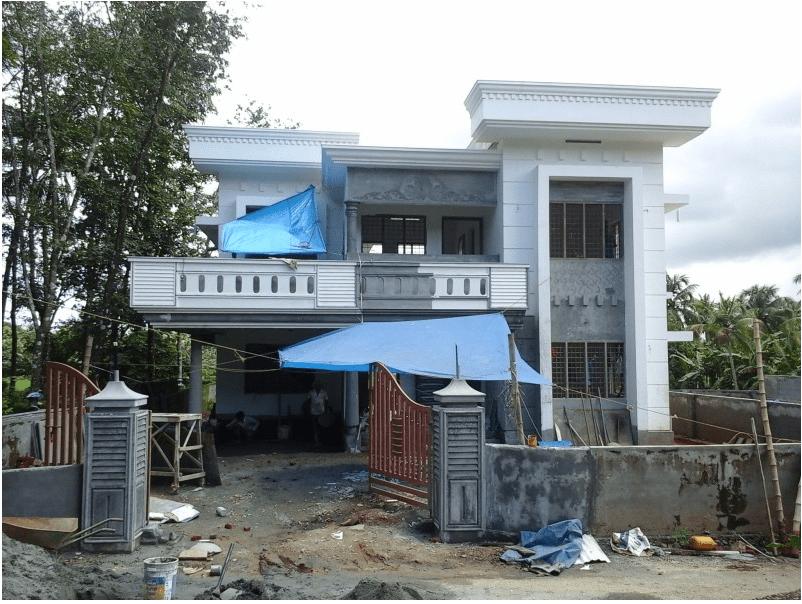 Photo of 4 Bedroom Home Design 2,400 Sq Ft At Kalady, Ernakulam