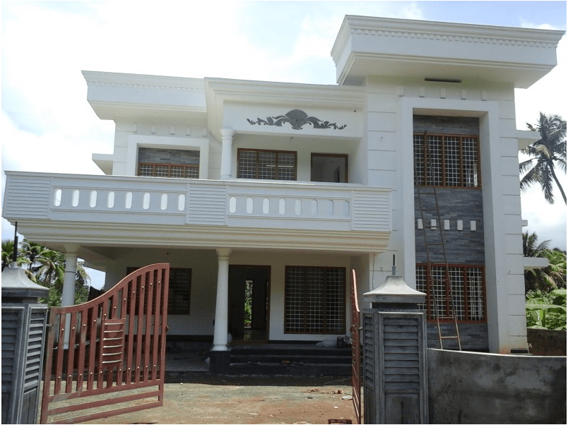 2400 Sq Ft 4 BHK Home Design in Ernakulam near Cochin Airport