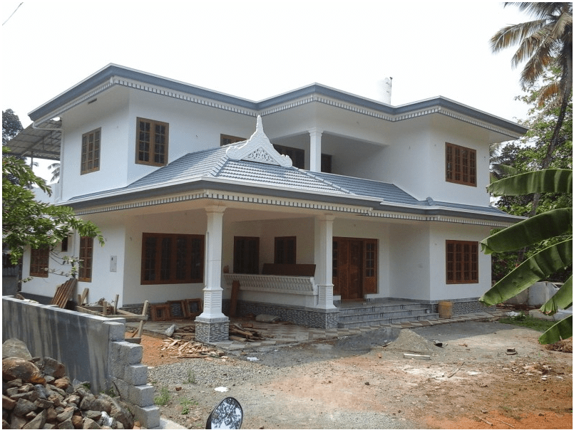 Photo of 2800 square feet, five-bedroom house in 16 cents at ernakulam