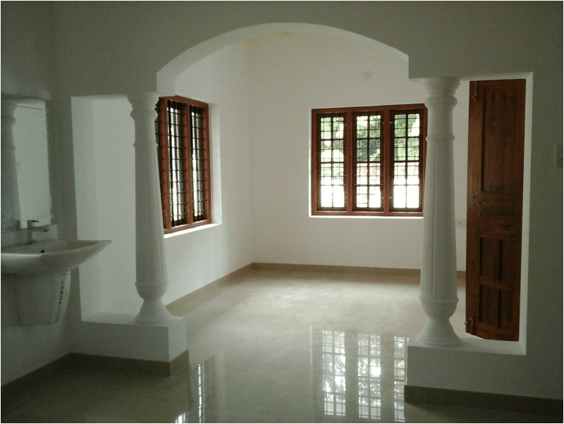 Medium Budget Home Design In Karukutty 1700 Sq Ft Home