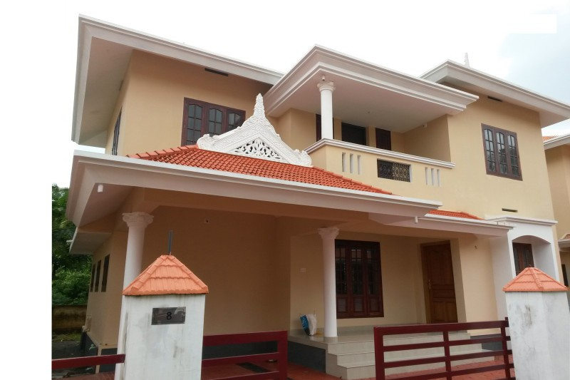 Kerala Beautiful 3 Bedroom Home Plan