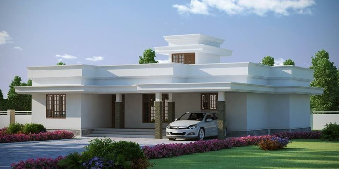 Beautiful kerala home low budget design 1772 sq ft home for Www kerala house designs com