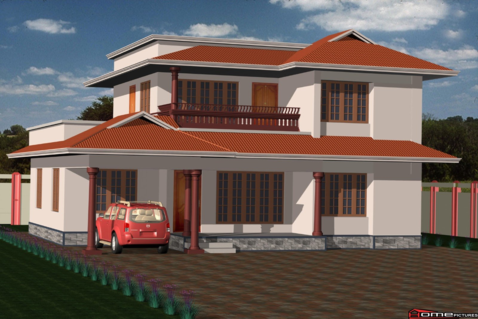 Photo of KERALA TRADITIONAL HOME DESIGN AT 2050 sq.ft