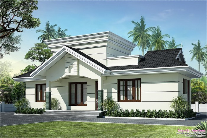 Photo of LOW COST HOUSE IN KERALA – 991 SQ FT
