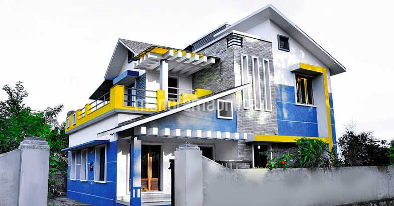 Fusion style traditional home design