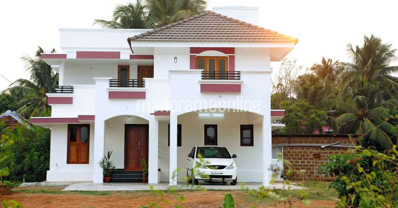 SIMPLE AND BEAUTY 2300 SQ FT 4 BHK HOME