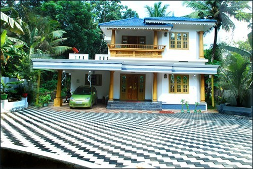 2200 sq.ft 3 BHK double pavilion villa 16 cents, Ettumanoor, Gedeyamu.