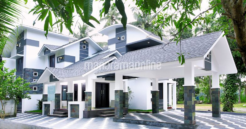 2985 Square Feet Contemporary Home Design At Kunnamkulam
