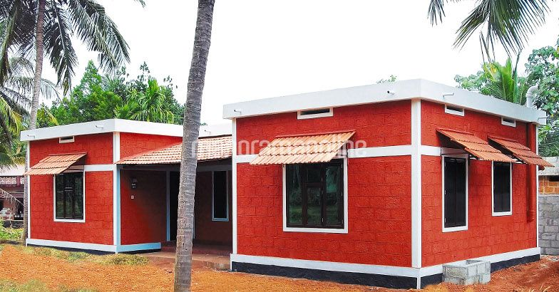 Twin Homes For Six Lakhs 914 Square Feet