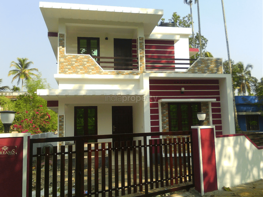 Photo of 1100 Square Feet 3 BHK Home At Kodungalloor