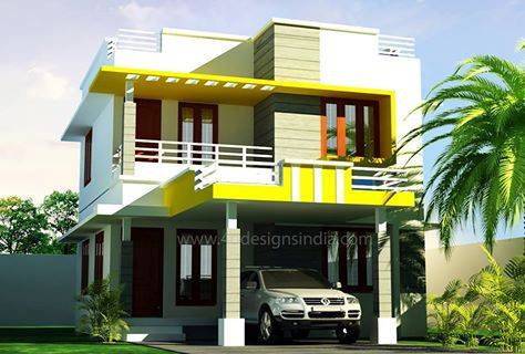 Photo of 1400 Square Feet 3BHK Bedroom Construction Cost 22 Lac