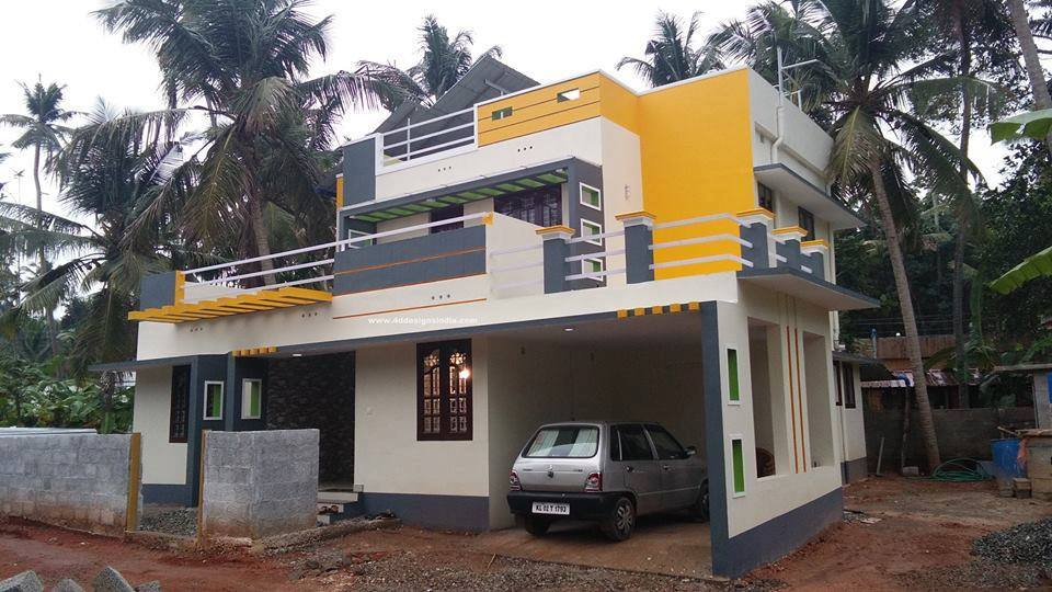 Photo of 1678 Square Feet Home Design For 26 Lakhs