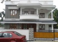 5.75 cent 2500 sqft 5 bed room posh luxury house design