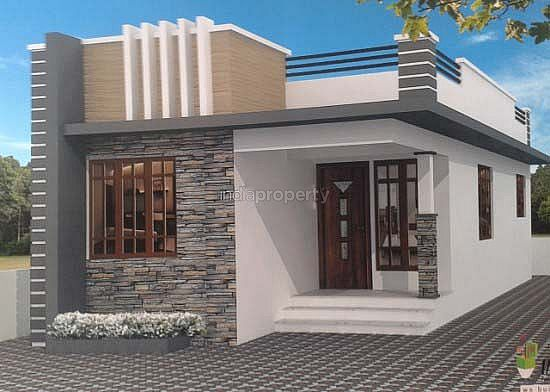 Photo of 750 Square Feet 3BHK Home Design At 3 Cent Plot