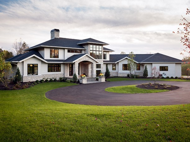 Photo of Contemporary Modern Home With Plan 4983 Square Feet