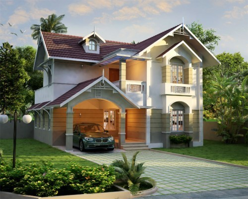 Photo of Contemporary Modern Style House Design At Cochi