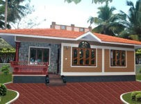 1100 Square Feet Kerala Home Design For 14 Lack
