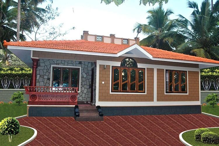 Photo of 1100 Square Feet Kerala Home Design For 14 Lack
