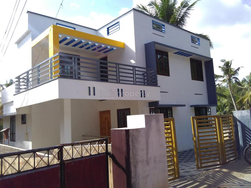 Photo of 1600 Square Feet 3BHK Kerala Home Design At 5 Cent Plot Area