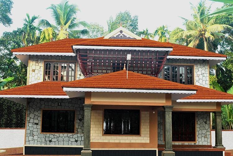 Photo of 1600 Square Feet Kerala Home Design For 18 Lacks