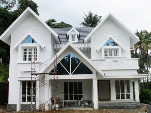 Photo of 2350 Square Feet 4BHK Luxury Kerala Home Design At Pala In 14 Cent