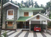 2400 Square Feet Double Floor Kerala Home Design