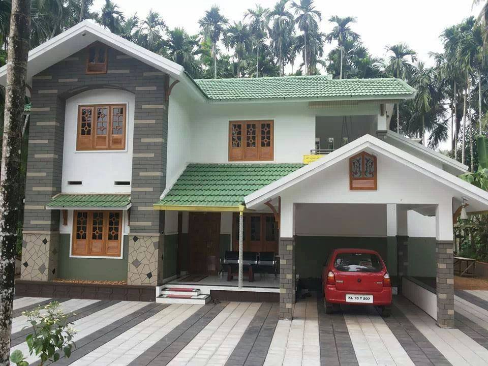2400 Square Feet Double Floor Kerala Home Design