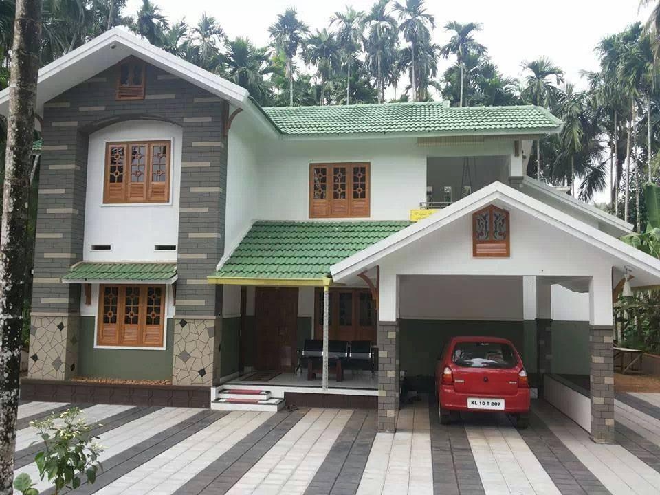 Photo of 2400 Square Feet Double Floor Kerala Home Design