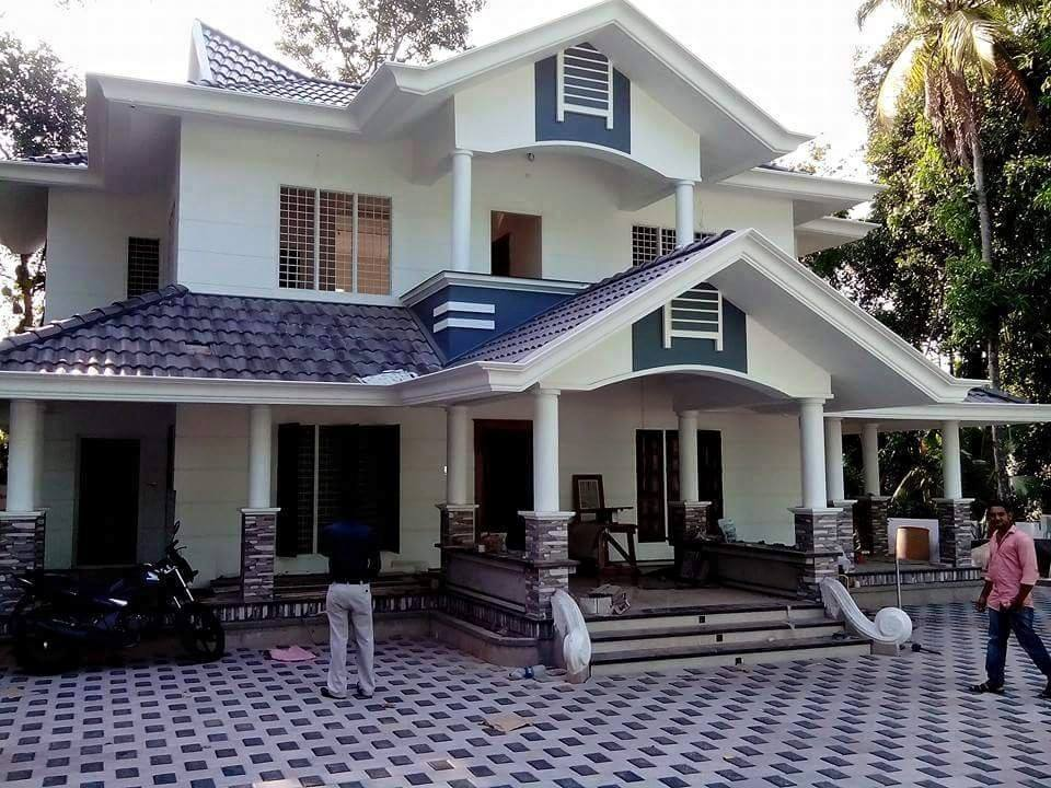 Double Floor 2700 Square Feet Kerala Home Design