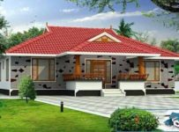 Low Budget Kerala Home Design With Plan 1200 Square Feet