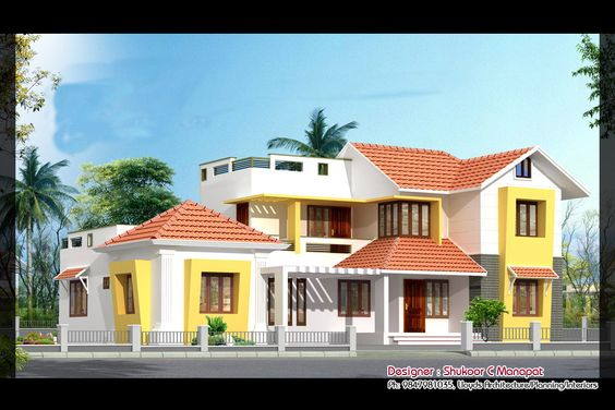 Photo of 1320 Square Feet 3BHK Kerala Home Design At 5.5 Cent Plot